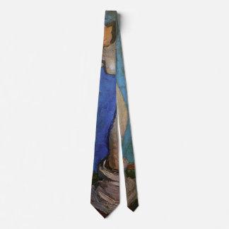 Van Gogh; Plaster Statuette of a Female Torso Tie