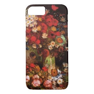 Van Gogh Poppies, Peonies and Chrysanthemums iPhone 7 Case