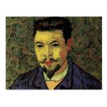 Van Gogh Portrait of Doctor Felix Rey, Vintage Art Post Card
