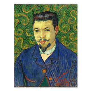 Van Gogh | Portrait of Dr. Félix Rey | 1889 Postcard