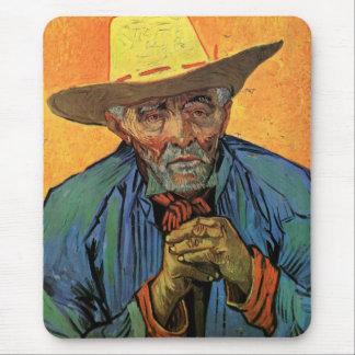 Van Gogh Portrait of Patience Escalier Vintage Art Mouse Pad