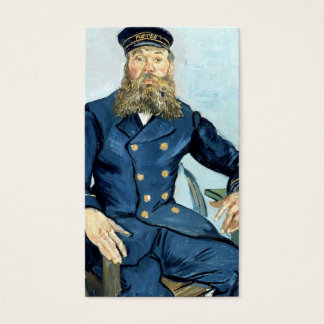 Van Gogh   Portrait of the Postman Joseph Roulin Business Card