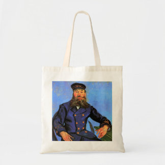 Van Gogh, Portrait of the Postman Joseph Roulin Tote Bag