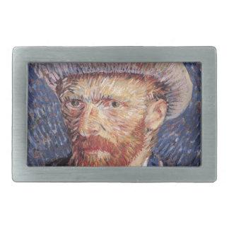 Van Gogh Rectangular Belt Buckles
