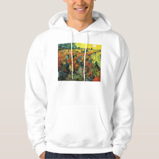 Van Gogh Red Vineyards at Arles Hoodie