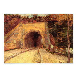 Van Gogh Roadway Underpass, the Viaduct, Fine Art Card