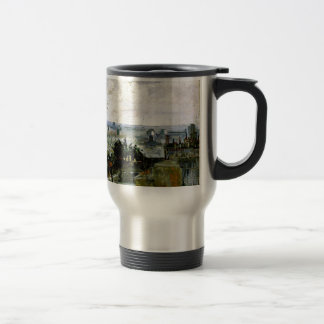 Van Gogh - Roofs of Paris Travel Mug