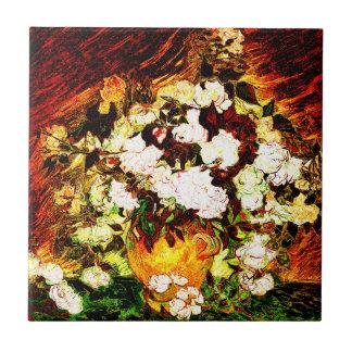 Van Gogh - Roses Tile
