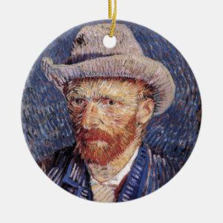 Van Gogh Round Ceramic Ornament