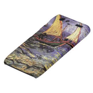 Van Gogh Seascape at Saintes Maries, Vintage Art Motorola Droid RAZR Cases