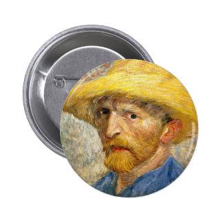 Van Gogh - Self-Portrait 2 Inch Round Button