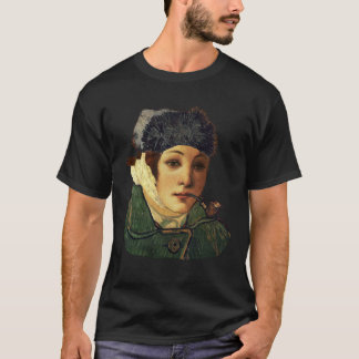 Van Gogh Self Portrait And Face Of Venus Botticell T-Shirt