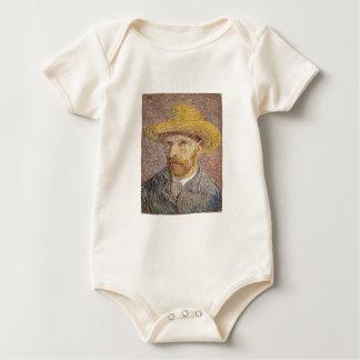 Van Gogh self portrait Baby Bodysuit