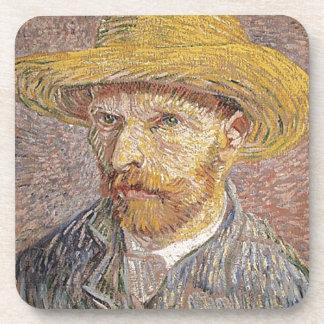 Van Gogh self portrait Beverage Coasters