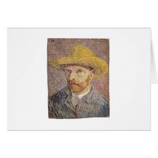 Van Gogh self portrait Card