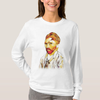 Van Gogh Self Portrait - Hair Do T-Shirt