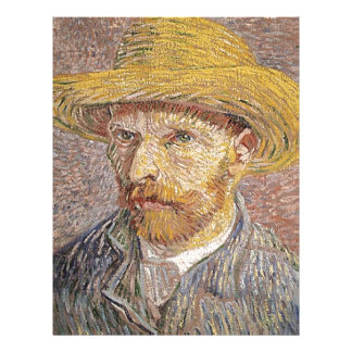 Van Gogh self portrait Letterhead