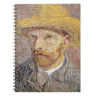 Van Gogh self portrait Notebook