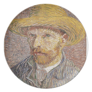 Van Gogh self portrait Plate