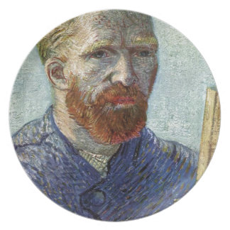 Van Gogh Self Portrait. Plate