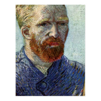 Van Gogh Self Portrait. Postcard