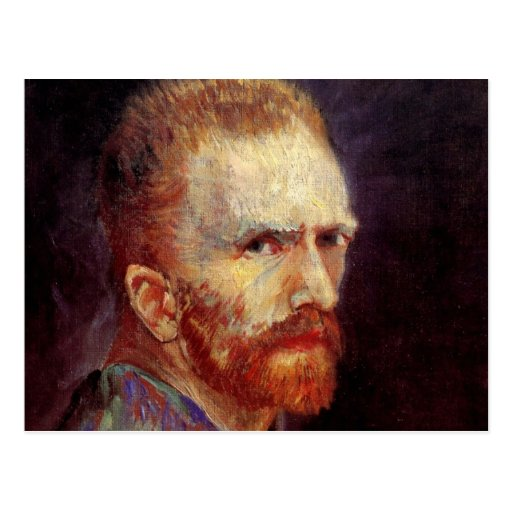 Van Gogh Self Portrait Post Cards