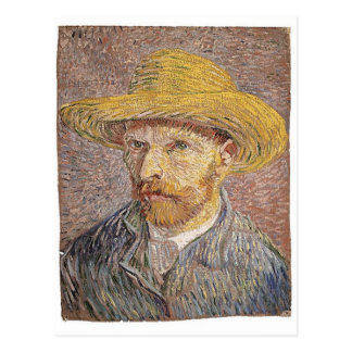 Van Gogh self portrait Postcard