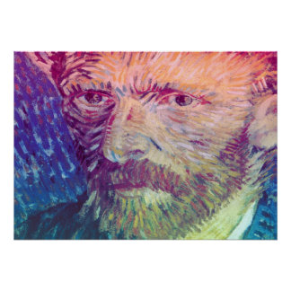 Van Gogh Self Portrait Poster