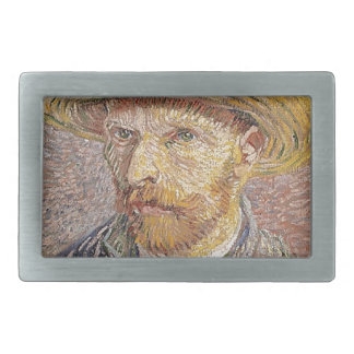 Van Gogh self portrait Rectangular Belt Buckle