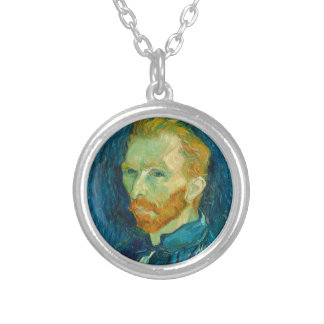 Van Gogh Silver Plated Necklace