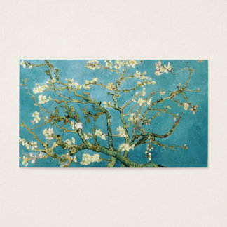 Van Gogh spring blossoms custom business cards
