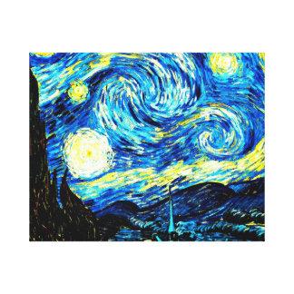 Van Gogh - Starry Night Canvas Print