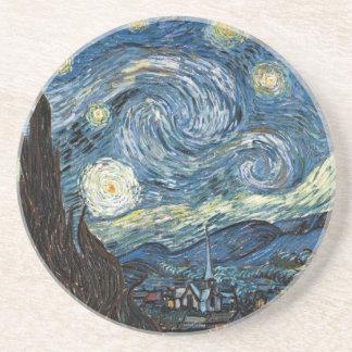 Van Gogh Starry Night Drink Coasters