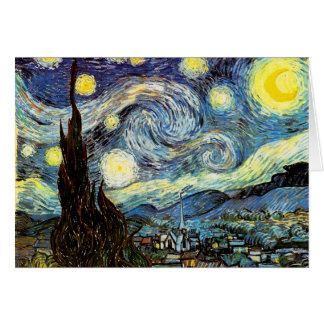 Van Gogh Starry Night F612 Vintage Fine Art Cards