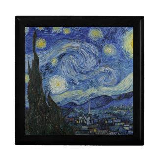 """Van Gogh """"Starry Night"""" Gift Box Keepsake Jewelry"""