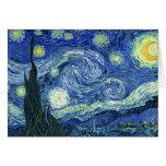 Van Gogh Starry Night Greeting Card