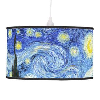 Van Gogh Starry Night Impressionism Hanging Lamp