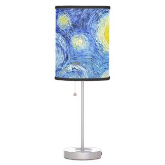 Van Gogh Starry Night Impressionism Table Lamp