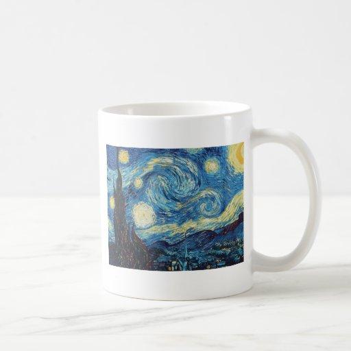 Van Gogh Starry Night Impressionist Painting Coffee Mugs