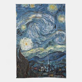 Van Gogh Starry Night Kitchen Towel