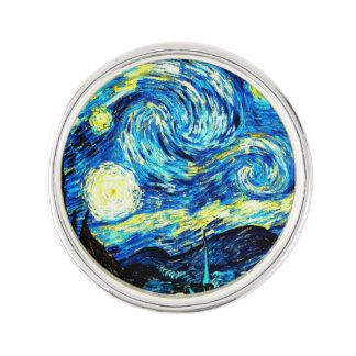 Van Gogh: Starry Night Lapel Pin
