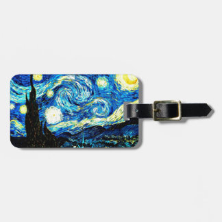 Van Gogh - Starry Night Luggage Tag