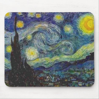 Van Gogh Starry Night Mouse Pad