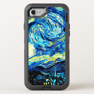 Van Gogh - Starry Night OtterBox Defender iPhone 7 Case