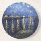 Van Gogh Starry Night Over Rhone Coaster