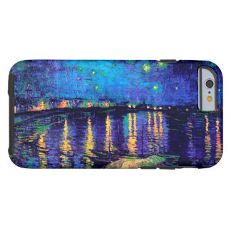 Van Gogh Starry Night Over Rhone  (F474) Fine Art Tough iPhone 6 Case