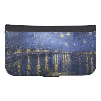 Van Gogh | Starry Night Over The Rhone | 1888 Galaxy S4 Wallet