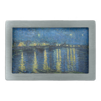 Van Gogh: Starry Night Over the Rhone Belt Buckle