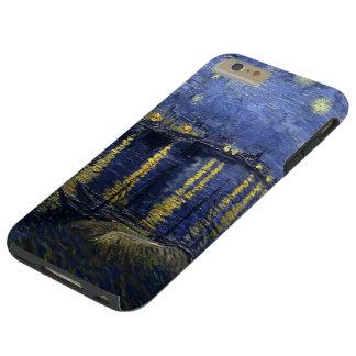 Van Gogh Starry Night Over The Rhone Tough iPhone 6 Plus Case