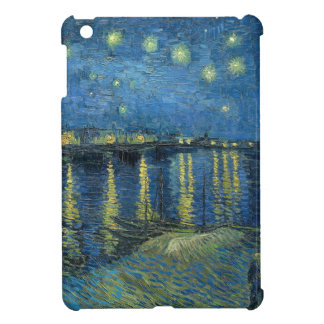 Van Gogh: Starry Night Over the Rhone Case For The iPad Mini